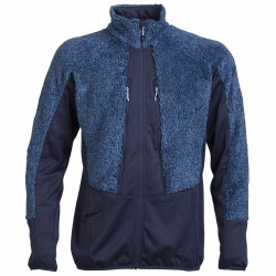 Mountaineering fleece Rock Experience Crest Man blue