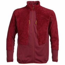 Mountaineering fleece Rock Experience Crest Man red