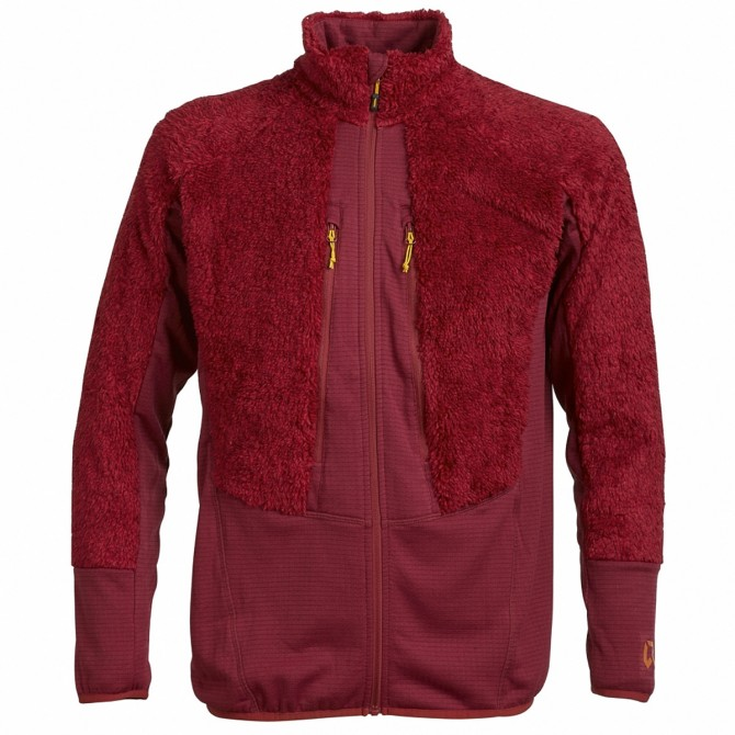 Mountaineering fleece Rock Experience Crest Man red