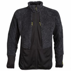Fleece Rock Experience Crest Man black