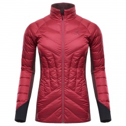 Mountaineering down jacket Black Yak Light Insulation Woman burgundy