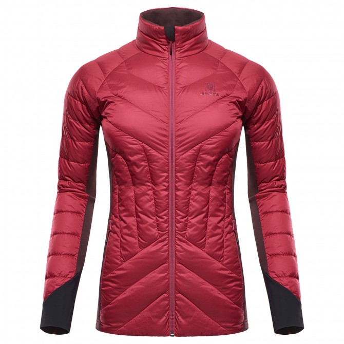 Mountaineering down jacket Black Yak Light Insulation Woman burgundy