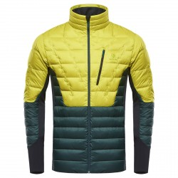 Mountaineering down jacket Black Yak Light Insulation Man lime