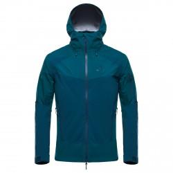 Veste alpinisme Black Yak Gore-Tex C-Knit Homme vert