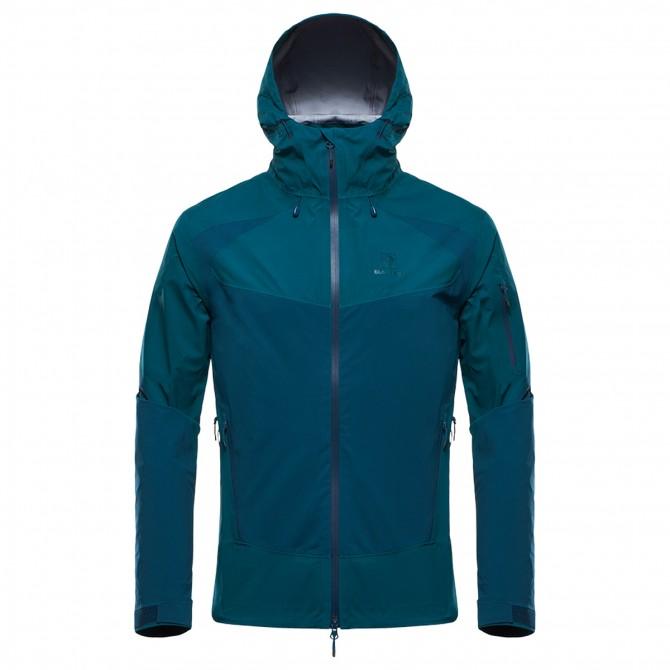 Mountaineering jacket Black Yak Gore-Tex C-Knit Man green