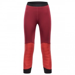 Mountaineering pants Black Yak Insulation Woman burgundy