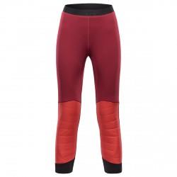 Pantalones montañismo Black Yak Insulation Mujer burdeos