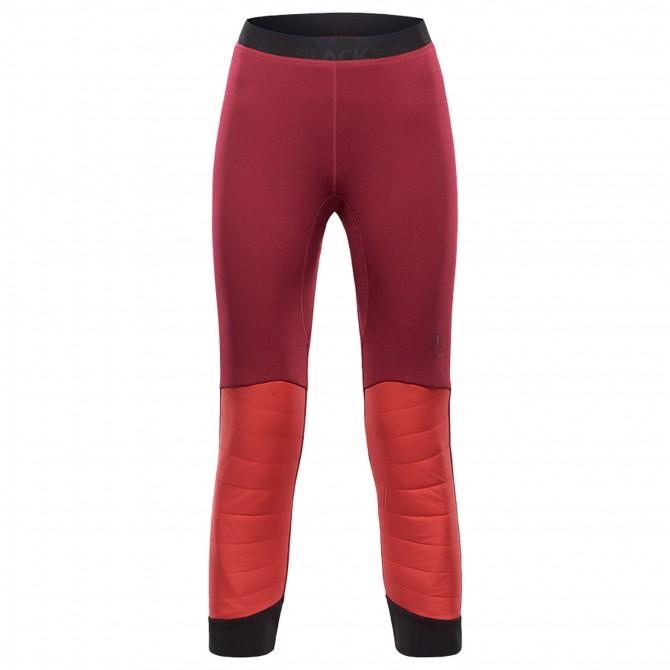 Mountaineering pants Black Yak Insulation Woman burgundy