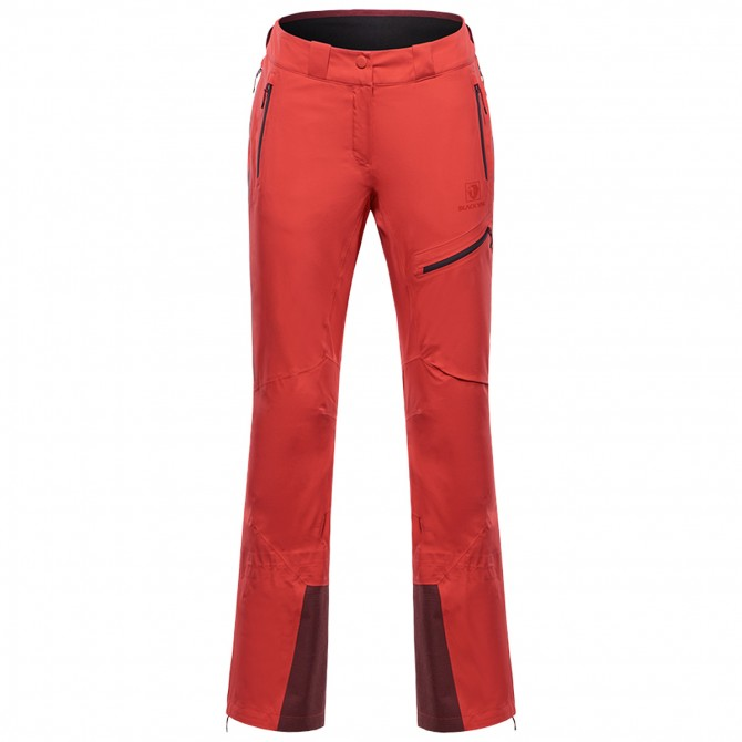 Pantalon alpinisme Black Yak Gore-Tex C-Knit Femme bordeaux