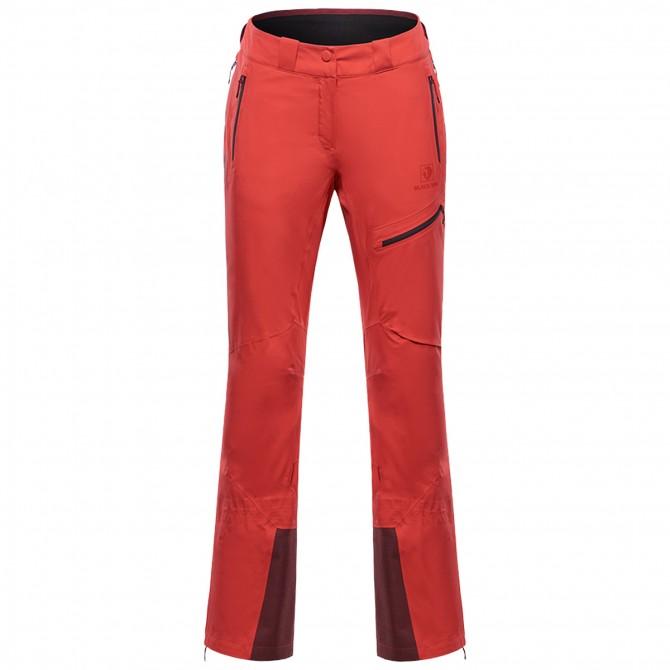 Pantalones montañismo Black Yak Gore-Tex C-Knit Mujer burdeos
