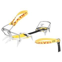 Ramponi sci alpinismo Grivel Ski Tour grigio-giallo