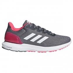 Zapatos running Adidas Cosmic 2 Mujer gris-rosa