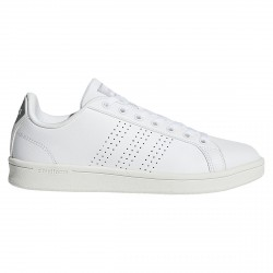Sneakers Adidas Cloudfoam Advantage Clean Femme blanc-gris