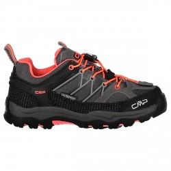 Chaussure trekking Cmp Rigel Low Femme gris-corail