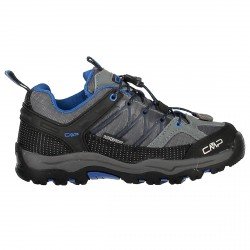 Chaussure trekking Cmp Rigel Low Junior gris-bleu