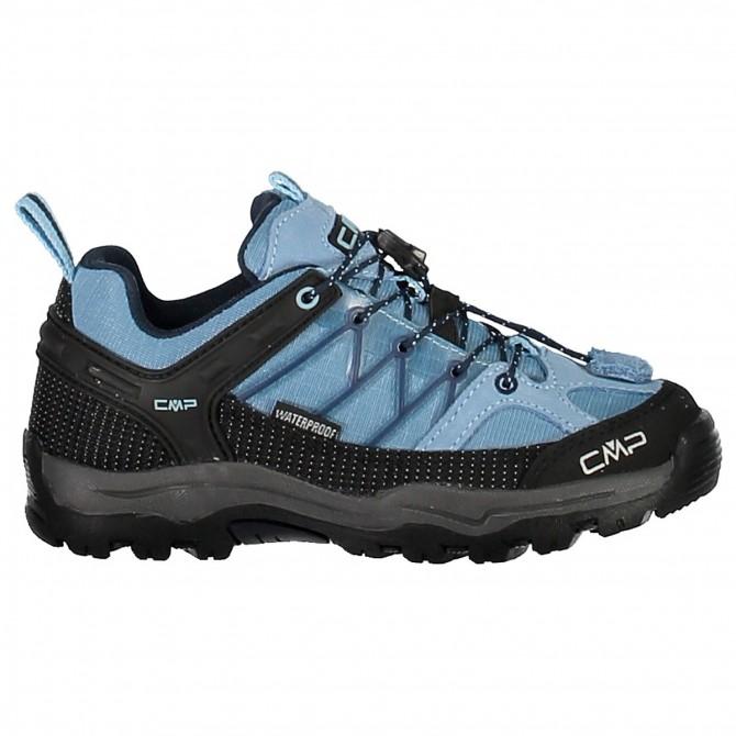 Zapato trekking Cmp Rigel Low Junior azul claro