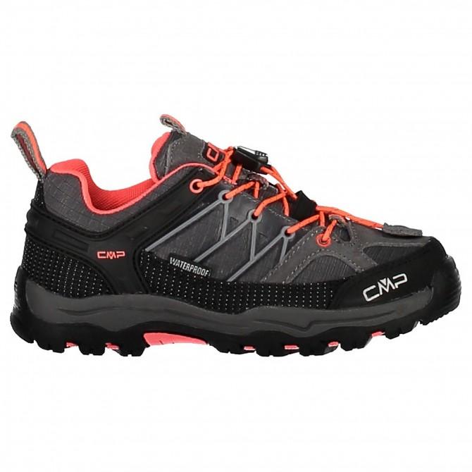 Zapato trekking Cmp Rigel Low Junior gris-coral