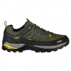 Zapato trekking Cmp Rigel Low Waterproof Hombre verde