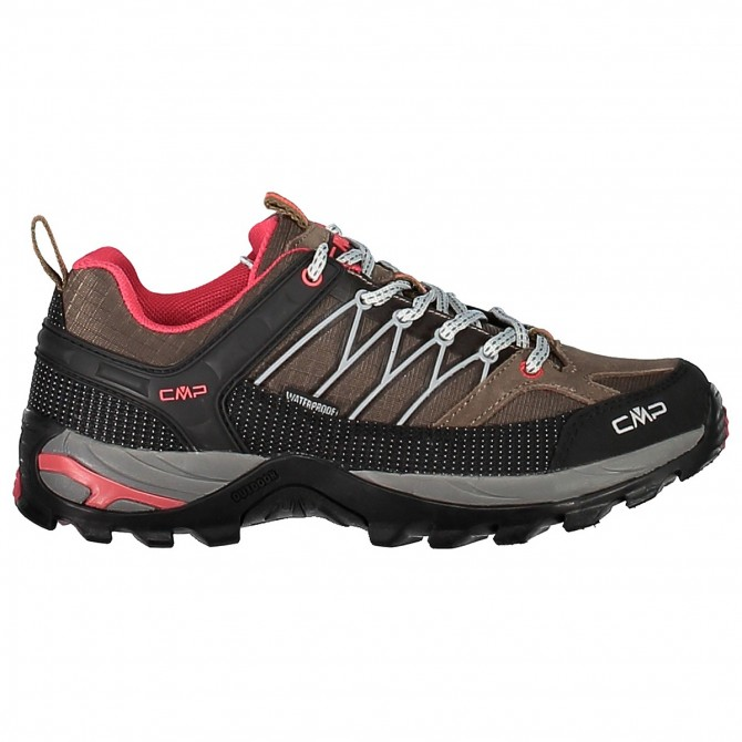 Chaussure trekking Cmp Rigel Low Waterproof Femme brun