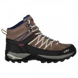 Zapato trekking Cmp Rigel Mid Mujer marrón