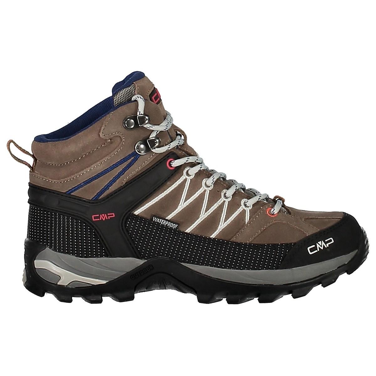 chaussure cmp rigel mid femme chaussures montagne et trekking. Black Bedroom Furniture Sets. Home Design Ideas