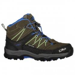 Zapato trekking Cmp Rigel Mid Junior verde