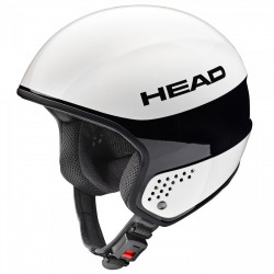 Casco sci Head Stivot Race Carbon bianco
