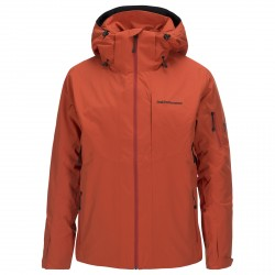 Mountaineering jacket Peak Performance Maroon II Man orange