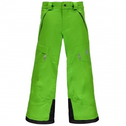 Pantalone sci Spyder Action Bambino verde
