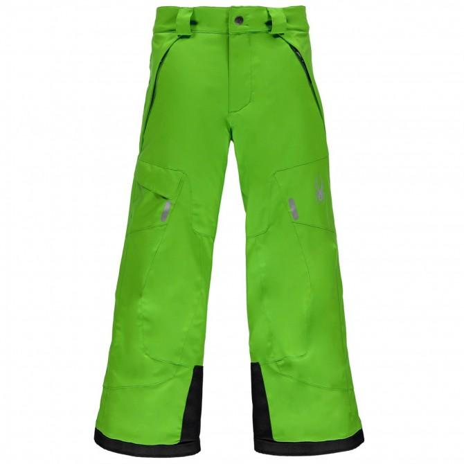 Ski pants Spyder Action Boy green