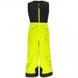 Salopette sci Spyder Mini Expedition giallo fluo