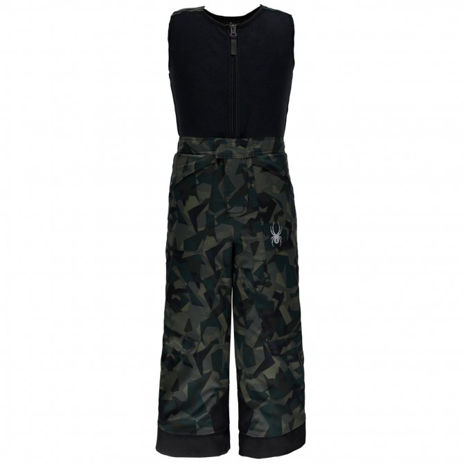 Ski overall Spyder Mini Expedition camouflage