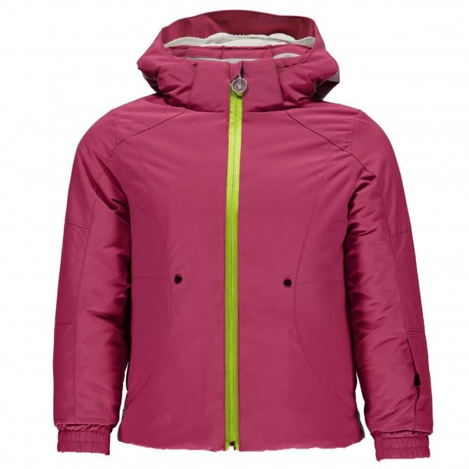 Ski jacket Spyder Bitsy Glam Girl fuchsia