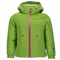 Ski jacket Spyder Bitsy Glam Girl green