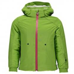 Veste ski Spyder Bitsy Glam Fille vert