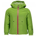 Ski jacket Spyder Bitsy Glam Girl green