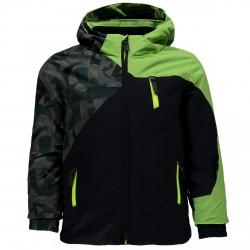Ski jacket Spyder Mini Ambush Boy camouflage