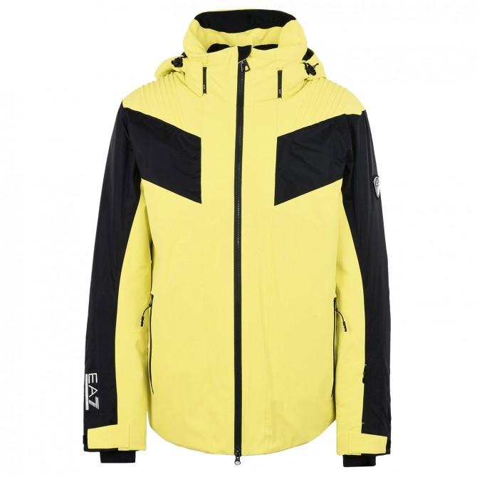 on sale e11ea 14165 Giacca sci Emporio Armani giallo-nero - Bottero Ski
