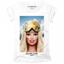 T-shirt My Mountains Barbie Mujer