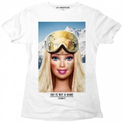 T-shirt My Mountains Barbie Fille