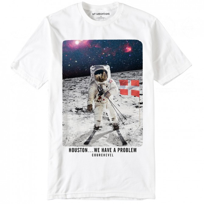 T-shirt My Mountains Houston Man