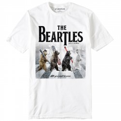 T-shirt My Mountains The Beartles Hombre