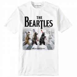 T-shirt My Mountains The Beartles Niño