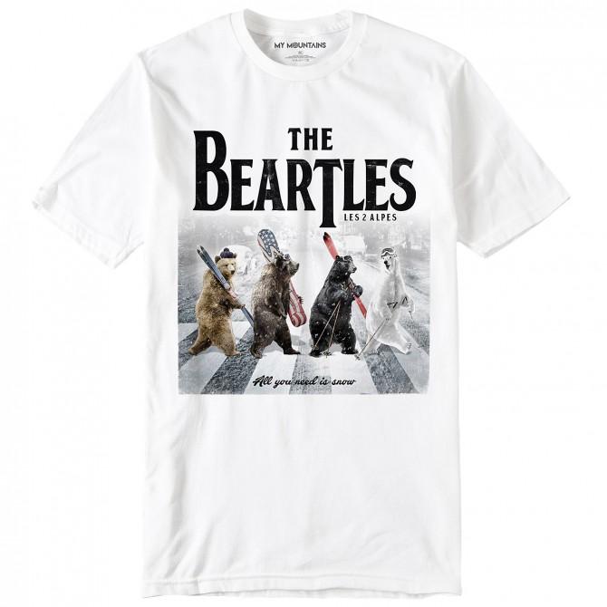 T-shirt My Mountains The Beartles Bambino