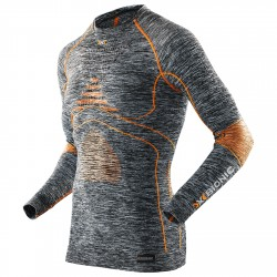 Underwear shirt X-Bionic Energy Accumulator Evo Man melange grey