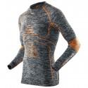 Maglia intima X-Bionic Energy Accumulator Evo Uomo grigio melange