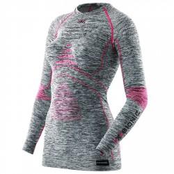 Jersey lingerie X-Bionic Energy Accumulator Evo Femme gris melange