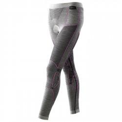 Calzamaglia X-Bionic Apani Merino Donna grigio-rosa