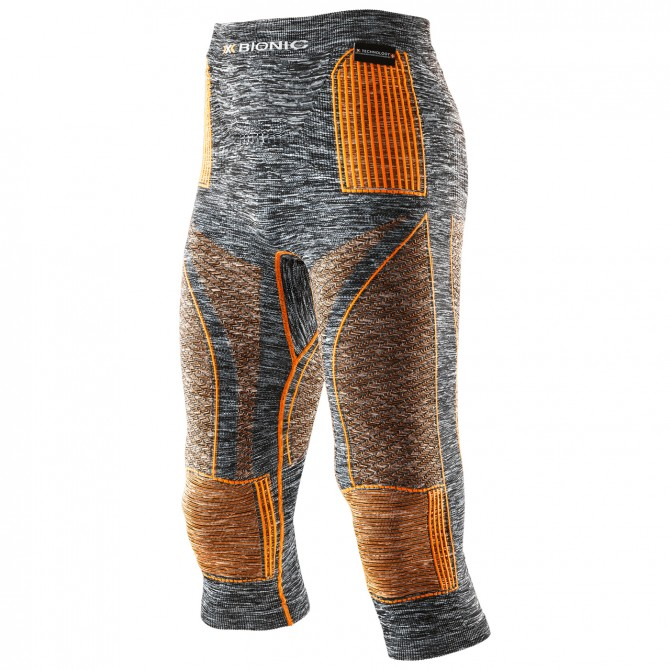 3/4 legging X-BionicEnergy Accumulator Evo Man melange grey