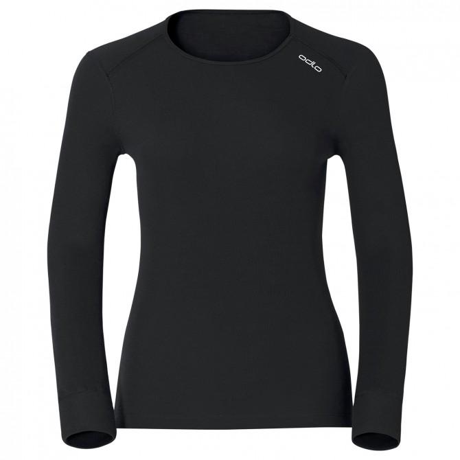 Jersey lingerie Odlo Warm Femme noir